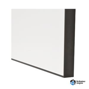 Glazenbord met aluminium frame