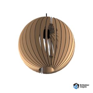 Decowood Hanglamp Orb Bruin