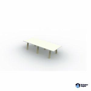 Hybrit vergadertafel rechthoekig